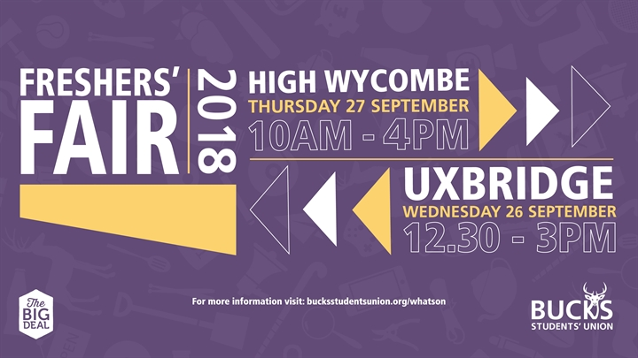 High Wycombe Freshers' Fair 2018