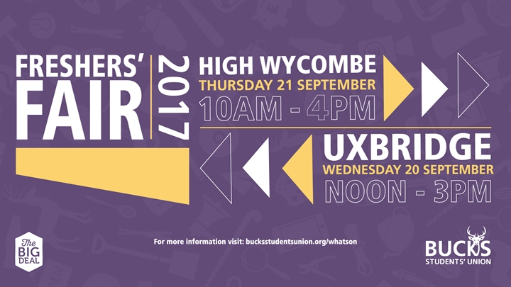 High Wycombe Freshers' Fair 2017