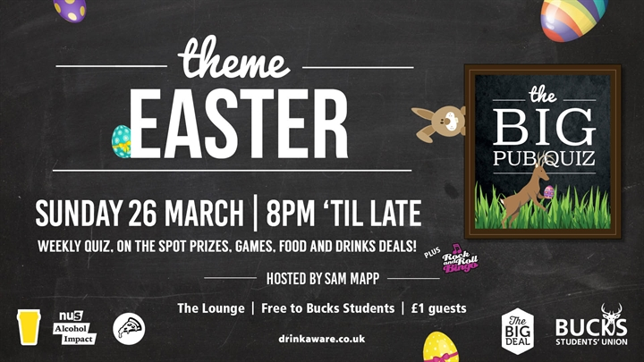 The BIG Pub Quiz: Easter