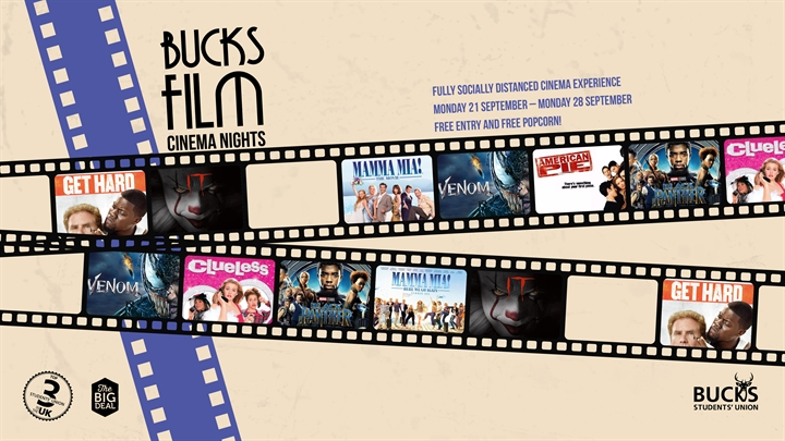 Bucks Film Cinema Night: IT