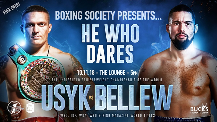 Boxing Society Takeover: Usyk vs Bellew