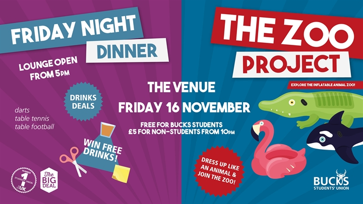 Friday Night Dinner: The Zoo Project