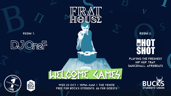 Frat House: Welcome Games