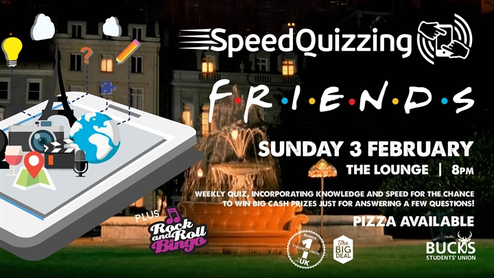 Speed Quizzing: Friends