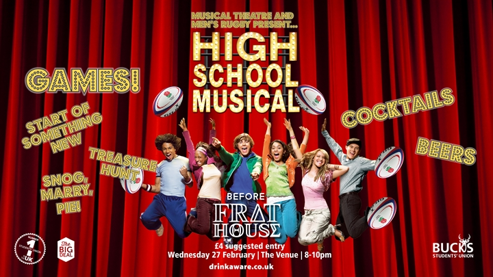 Frat House: Musical Theatre and Men's Rugby Takeover