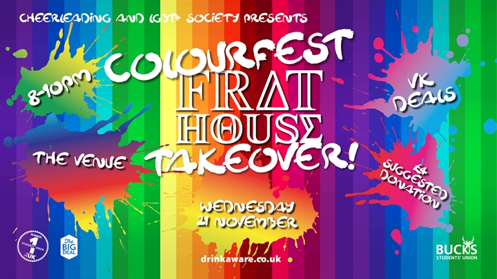 Frat House: Cheer & LGBT+ Takeover