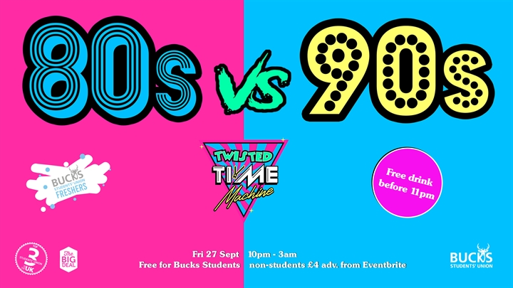 Twisted Time Machine presents: Lycra 80s v 90s Aerobics Party