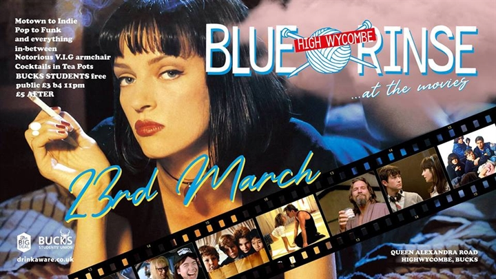 BLUE RINSE (at the movies)