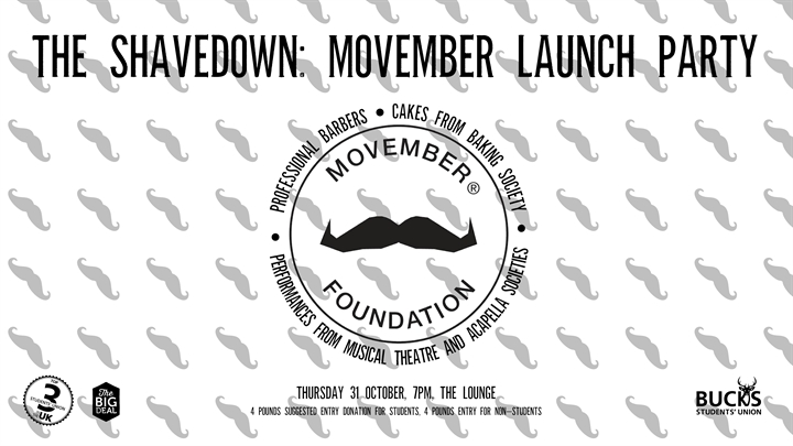 The Shavedown: Movember Launch Party