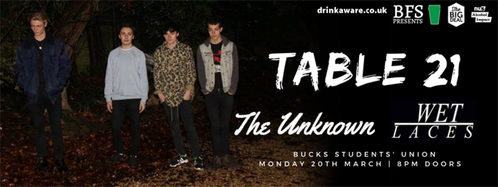BFS presents: Table 21 / Wet Laces / The Unknown