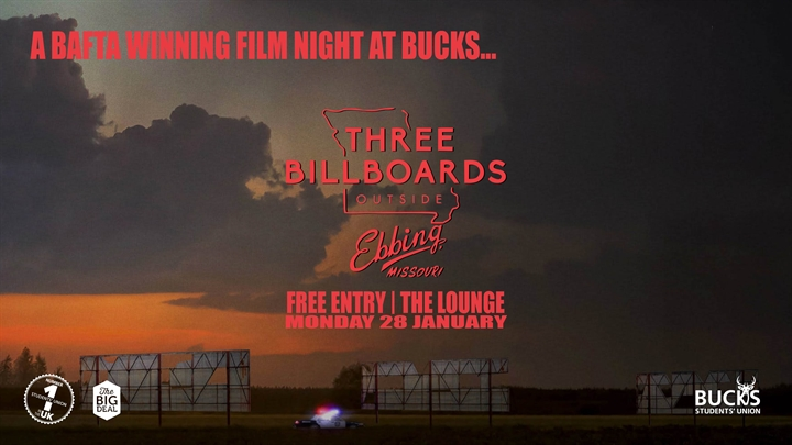 Movie Night: Three Billboards Outside Ebbing, Missouri