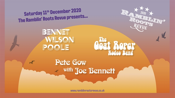 ***EXTRA DATE*** Robin, Danny & Friends / The Goat Roper Rodeo Band / Pete Gow