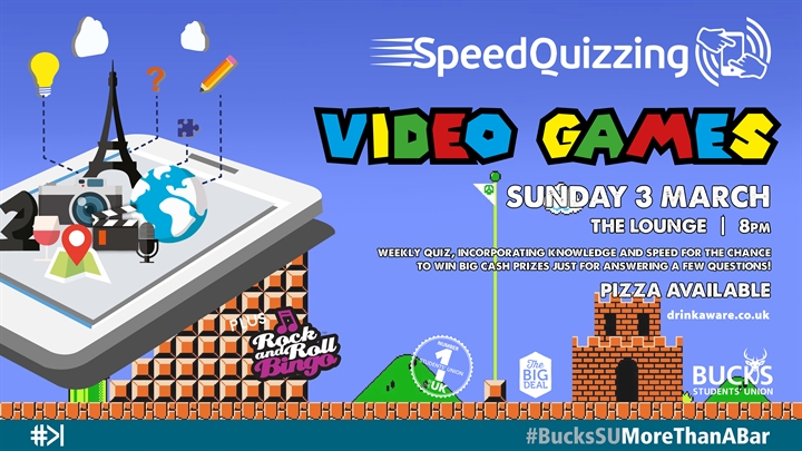 Speed Quizzing: Video Games