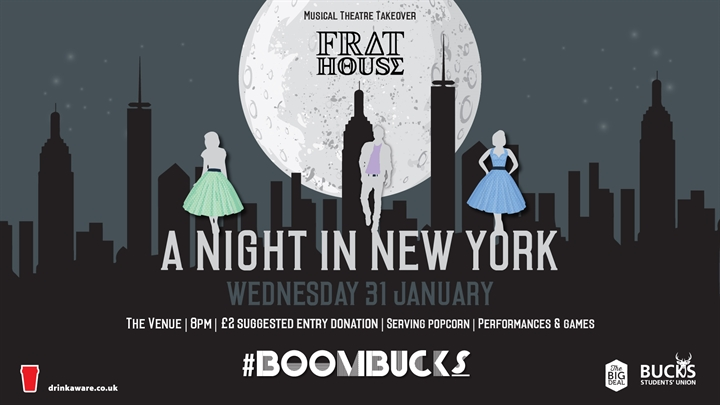 Frat House w/ BoomBucks: Musical Theatre Takeover