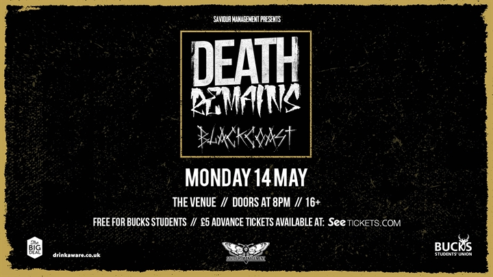 Death Remains & Black Coast Live