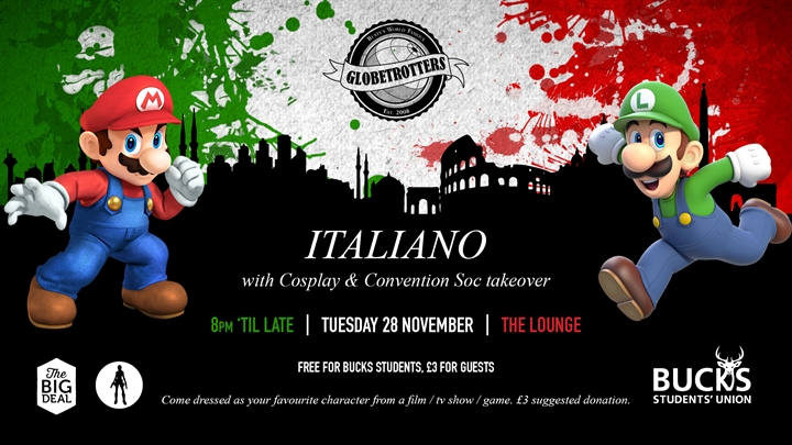 Globetrotters: Italian Night