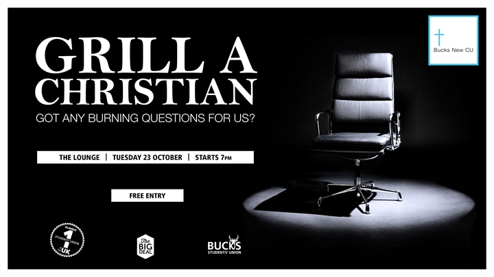Christian Union presents Grill A Christian