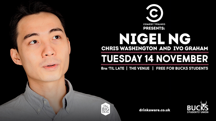 Comedy Central: Nigel Ng