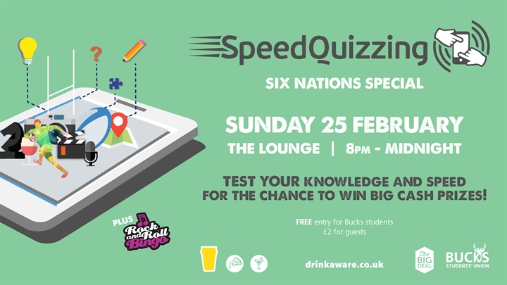 Speed Quizzing: Six Nations