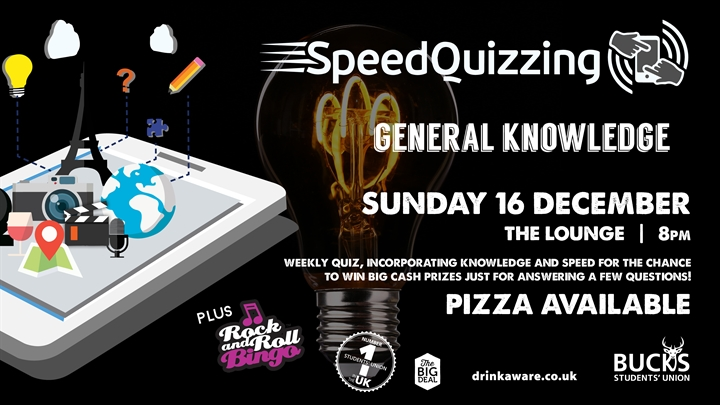 Speed Quizzing: General Knowledge