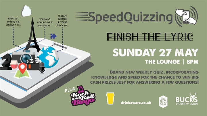 Speed Quizzing: Finish The Lyric