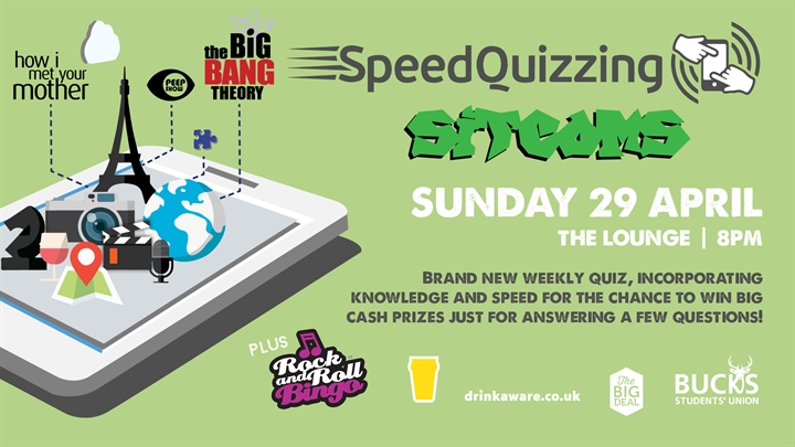 Speed Quizzing: Sitcoms