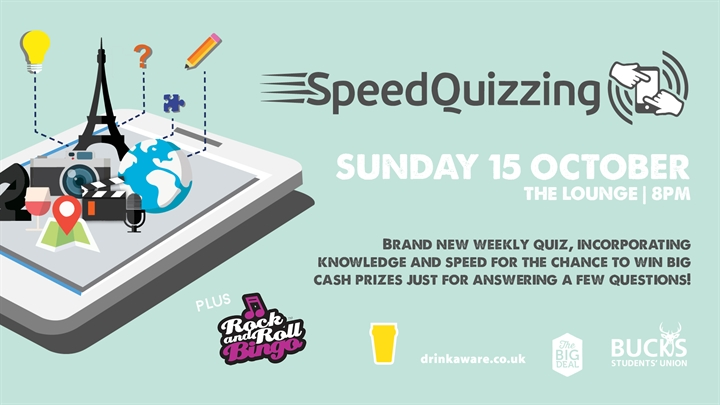 Speed Quizzing and Rock n' Roll Bingo
