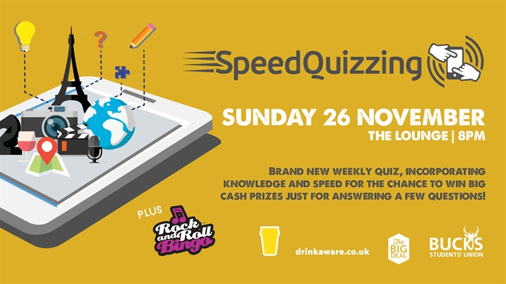 Speed Quizzing // Rock n' Roll Bingo