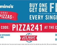 Domino's Pizza - buy one get one free, every single day