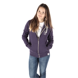Image for Unisex Zipped Hoodie, Vintage Purple, Small