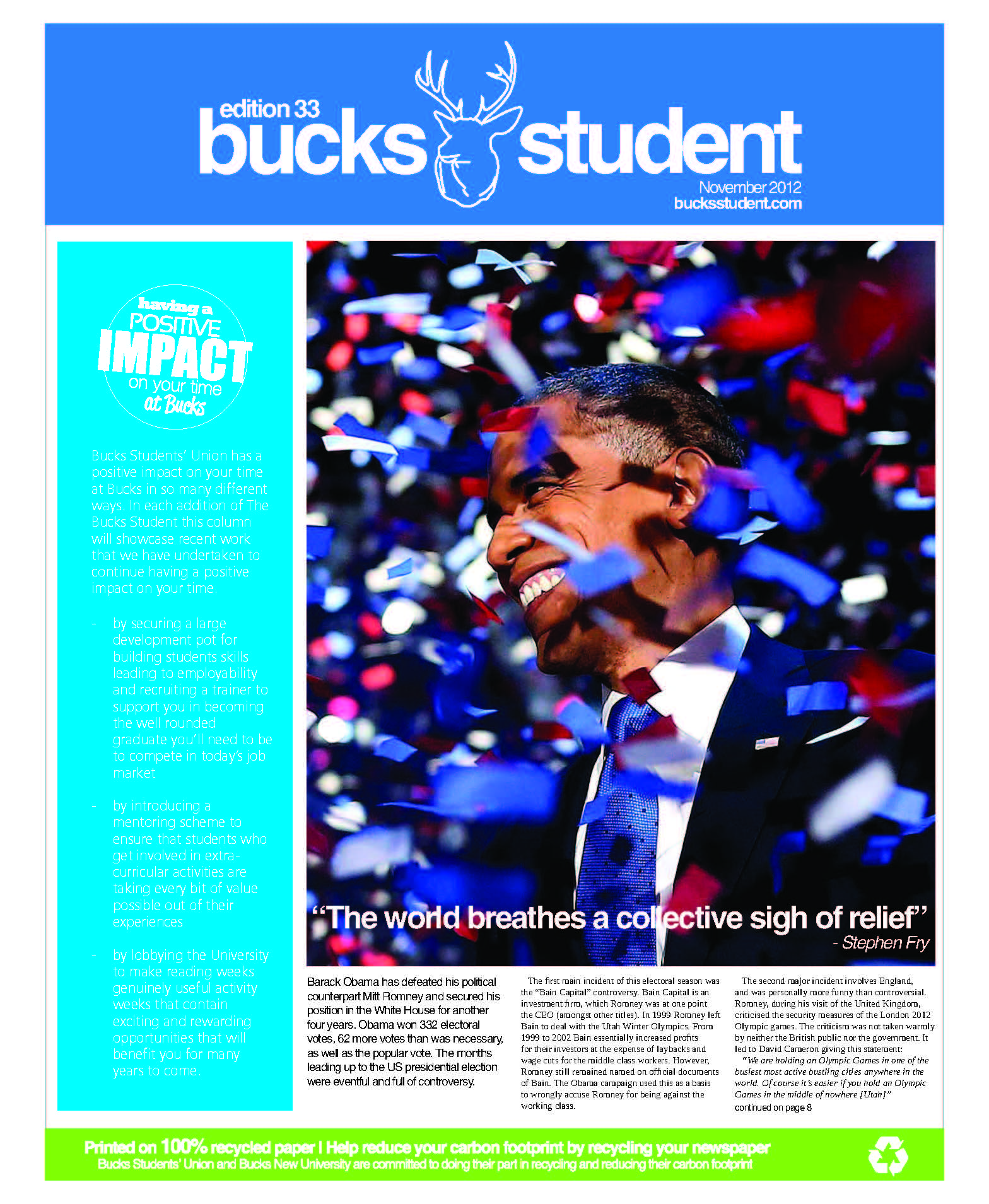 e50a74fc76b Newspaper  The Bucks Student